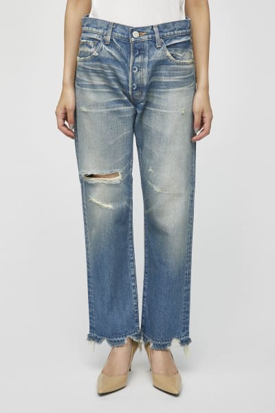 MOUSSY VINTAGE Leola Cropped Straight