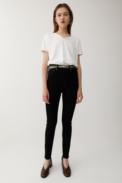 High Waisted Rebirth BLACK Skinny Jeans