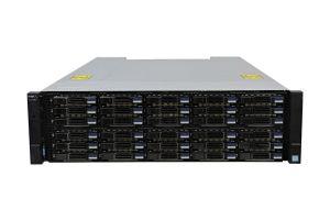 Dell Compellent SC7020 with 10Gb/s iSCSI RJ45 Controllers 30 x 2.4TB SAS 12G