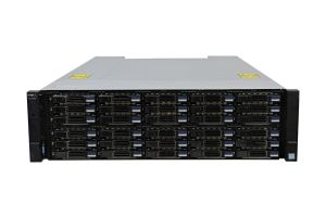 Dell Compellent SC7020 with 10Gb/s iSCSI SFP+ Controllers 30 x 1.92TB SSD SAS 12G