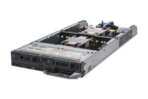 "Dell PowerEdge FC630 1x2 2.5"" SATA, 2 x E5-2670 v3 2.3GHz Twelve-Core, 96GB, PERC S130, iDRAC8 Enterprise"
