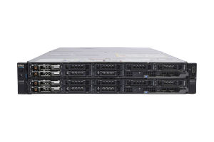 Dell PowerEdge FX2s - 2 x FC830, 4 x E5-4640 v4, 512GB, 2 x 200GB SAS SSD, PERC H730, iDRAC8 Enterpise