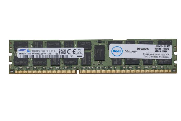 Dell 16GB PC3-14900R 12C23 Ref