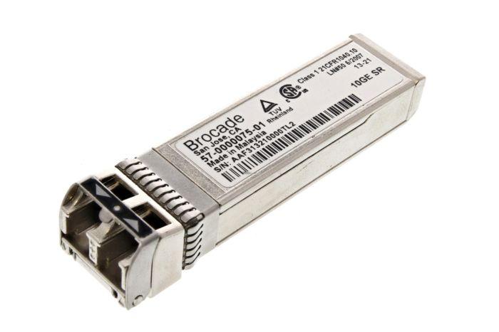 Brocade 10G FC SFP+ Short Range Transceiver - 57-0000075-01