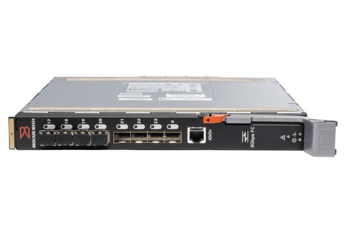 Dell Brocade M5424 24x Active SFP+ Ports + 4x 8Gb SFP+ Mid-Level Blade Switch