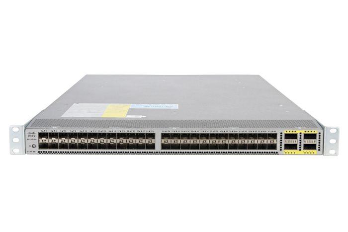 Cisco Nexus N6K-C6001-64P Switch LAN Enterprise License, Port-Side Air Intake