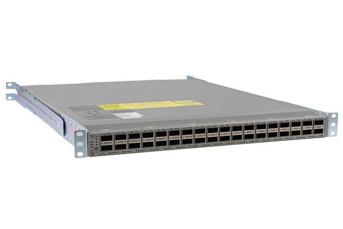 Cisco Nexus N9K-C9236C Switch DCNM License, Port-Side Air Exhaust