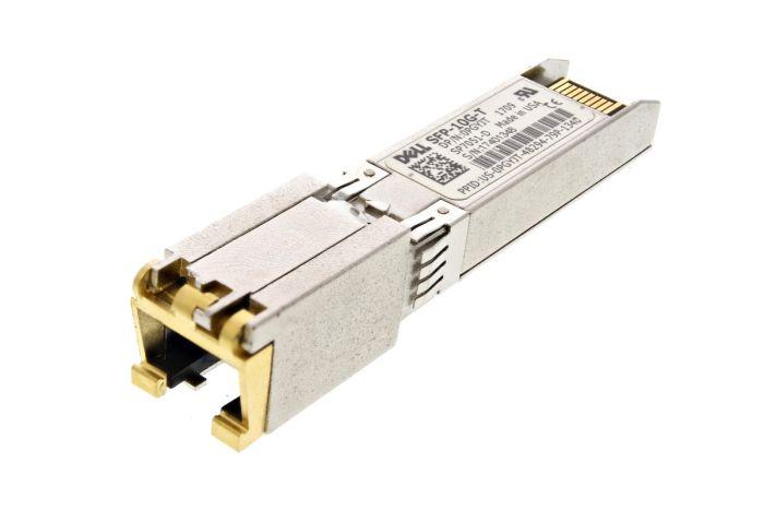 Dell 10Gb SFP+ RJ45 Short Range Transceiver - SFP-10G-T - PGYJT - Ref