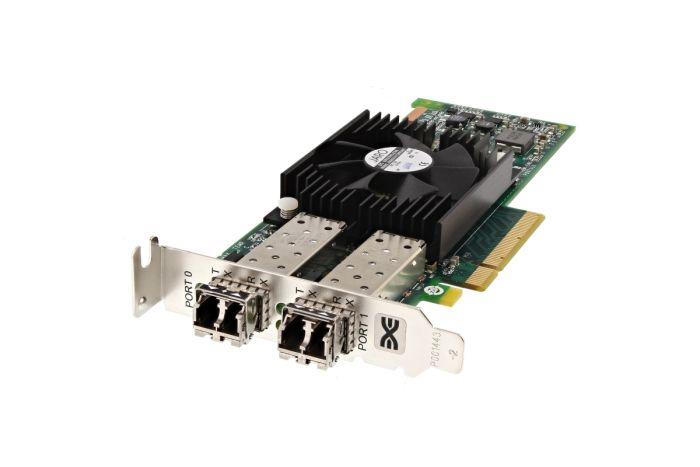 Dell Emulex LPE16002 16Gb FC SFP+ Dual Port Low Profile HBA - HD2MG