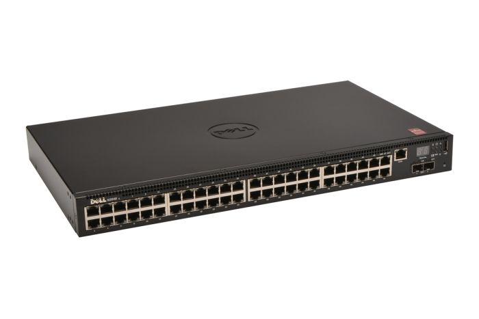 Dell Networking N2048 48 x 1GbE RJ45 + 2 x SFP+ Switch - Ref