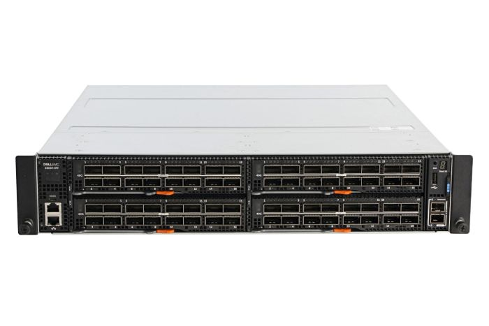 Dell Networking S6100-ON Chassis + 4x (16 x 40GbE) QSFP+ Modules w/ 2 x PSU - Ref