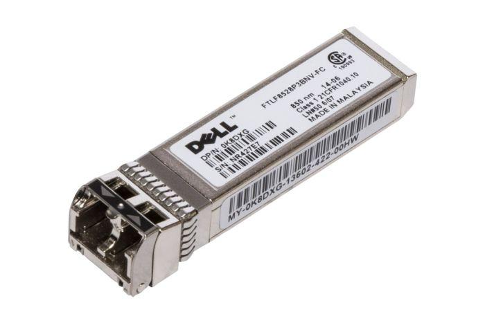Dell 8Gb SFP+ FC Short Range Transceiver - K8DXG - FTLF8528P3BCV-FC - New