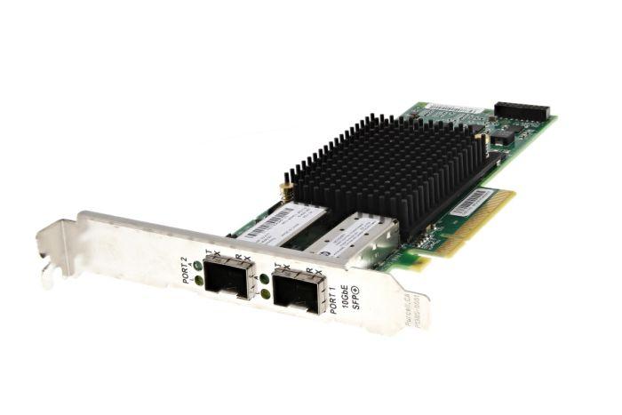 HP NC552SFP 10Gb SFP+ Dual Port Full Height Network Card - 614506-001 - Ref
