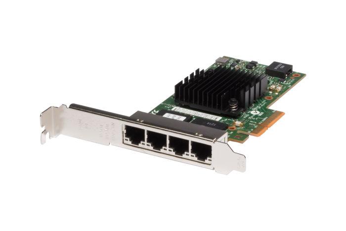 Intel i350-T4 1Gb Quad Port Full Height Network Card - Ref