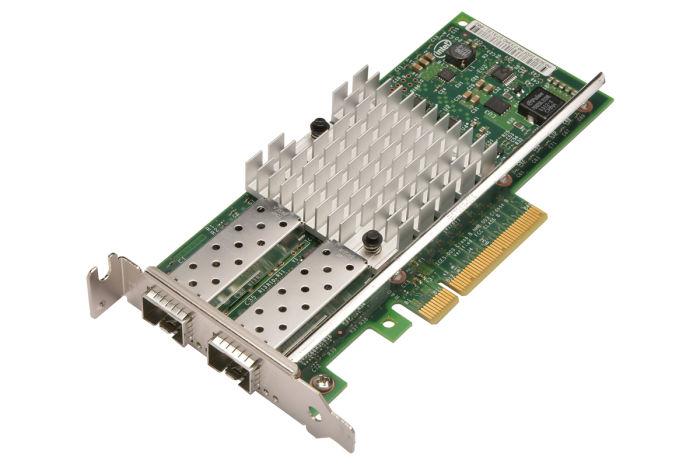 Dell Intel X520-DA2 10Gb Dual Port Low Profile Network Card - 942V6 - Ref