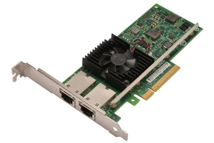 Dell Intel X540-T2 10Gb RJ45 Dual Port Full Height Network Card - 3DFV8 - Ref