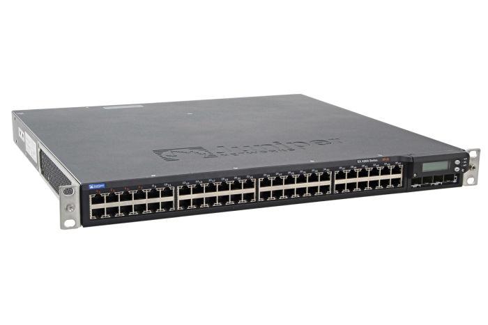 Juniper EX4200-48P 48x 1Gb PoE Switch w/ EX-UM-2X4SFP Module