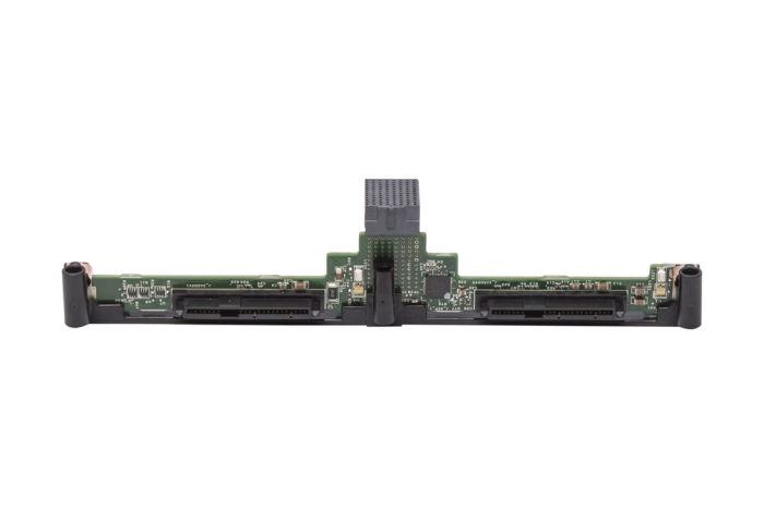 """Dell PowerEdge M520 M620 1x2 2.5"""" SATA SAS Hard Drive Backplane RWV1C"""