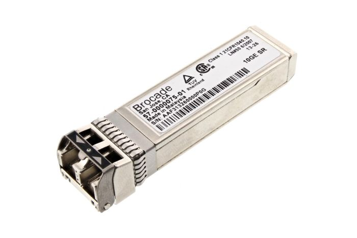 Brocade 10G SFP+ FC Short Range Transceiver - 57-0000075-01 - New