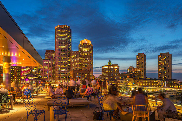Bostonu0027s Best Rooftop Bars And Patios
