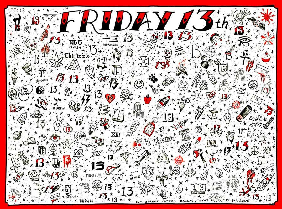 d9d2323da Friday The 13th Tattoo Specials