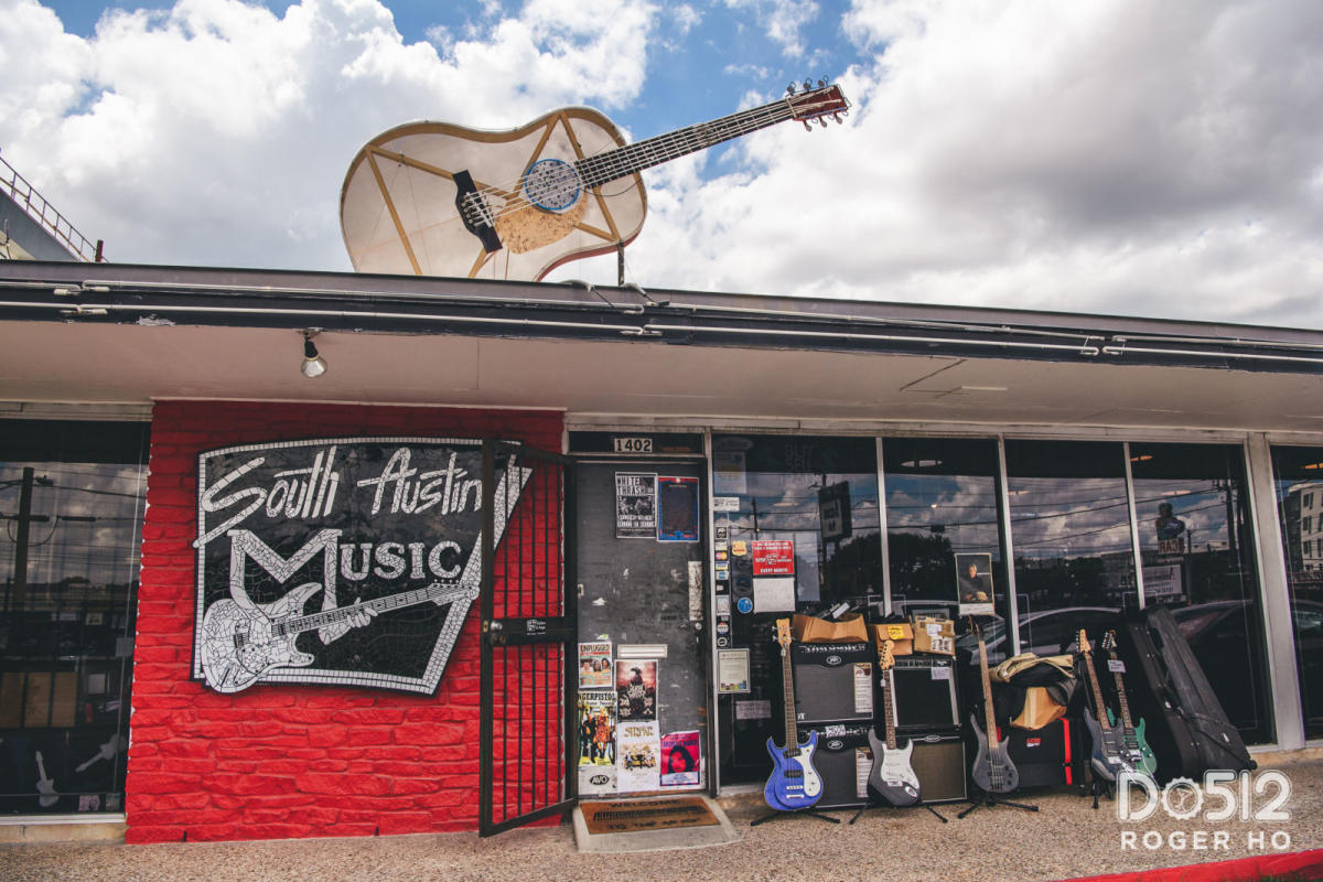 music shops in austin. Black Bedroom Furniture Sets. Home Design Ideas