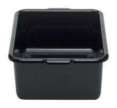 Aterinlaatikko musta 38,6x51,2x17,6 cm