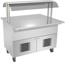 Neutraalitarjoiluvaunu Dieta Serve Buffet N 160