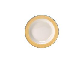 Lautanen syvä keltainen Ø 21,5 cm