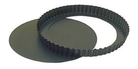Piirakkavuoka pinnoitettu irtopohja Ø 240 mm