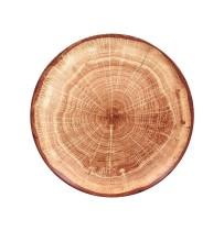 Lautanen punaruskea Ø 29 cm