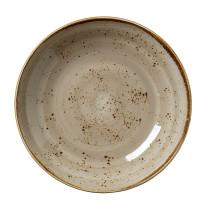 Lautanen syvä beige Ø 25,5 cm