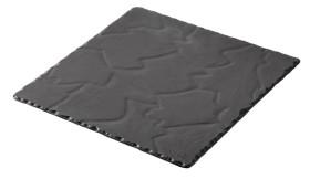 Tarjoiluvati musta 20x20x0,7 cm