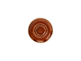 Aluslautanen punainen Ø 14,5 cm