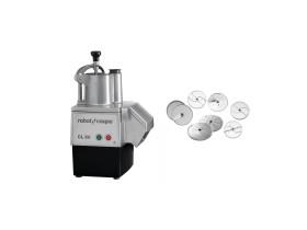 Vihannesleikkuri Robot CL50 + teräpaketti (6 kpl)