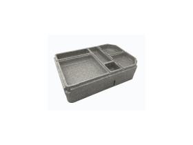 Ruoankuljetuslaatikko 6-lokeroa GoBox EPP