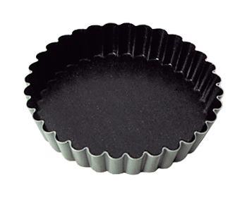 Tartalettivuoka pinnoitettu K 18 mm Ø 105 mm 12 kp