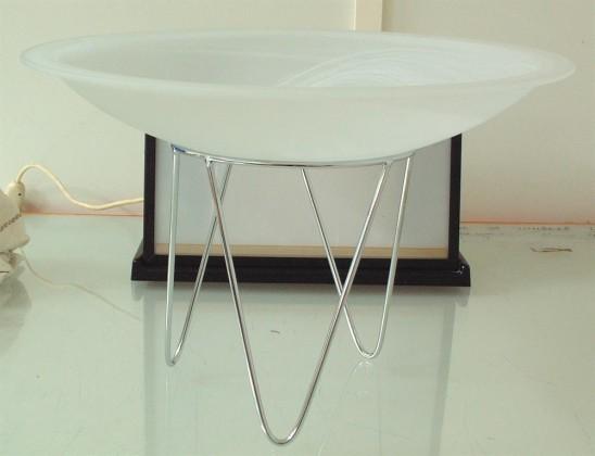 Buffet-kulho valkoinen matta Ø 60 cm