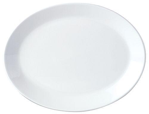 Lautanen soikea P 34 cm