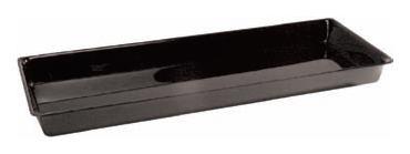 Lasikkotarjotin musta 53x20x1,7 cm