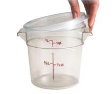 Kansi astioille 1,9 L ja 3,8 L