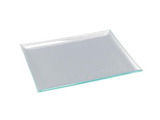 Lasilautanen suorakaide 32,5x26,5 cm
