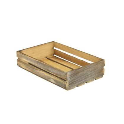 Puulaatikko Rustic 35x23x8 cm