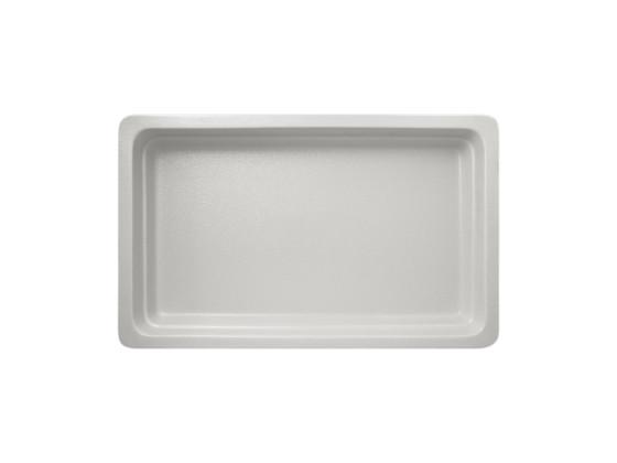 GN-vati valkoinen 1/1 53x32,5x6,5 cm