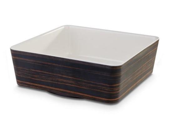 Neliökulho melamiini 26,5x26,5x9 cm 4 L