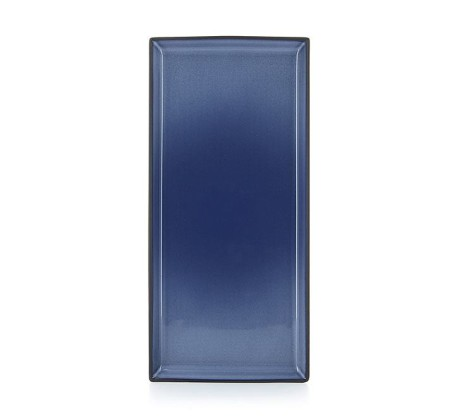 Lautanen suorakaide sininen 32x15 cm