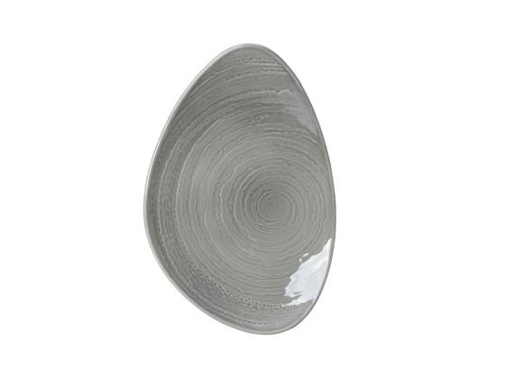 Lautanen harmaa Ø 37,5 cm