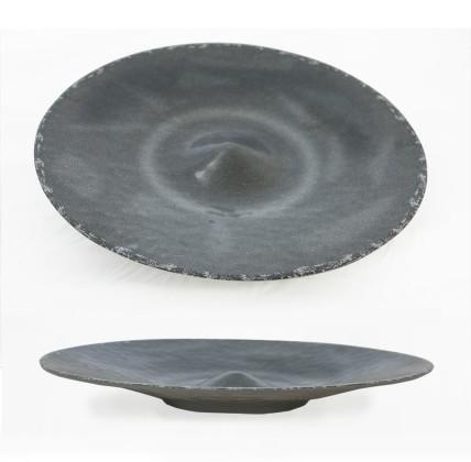 Tarjoilukulho melamiini harmaa Ø 45 cm