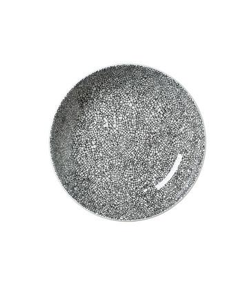 Lautanen syvä musta Ø 21,6 cm