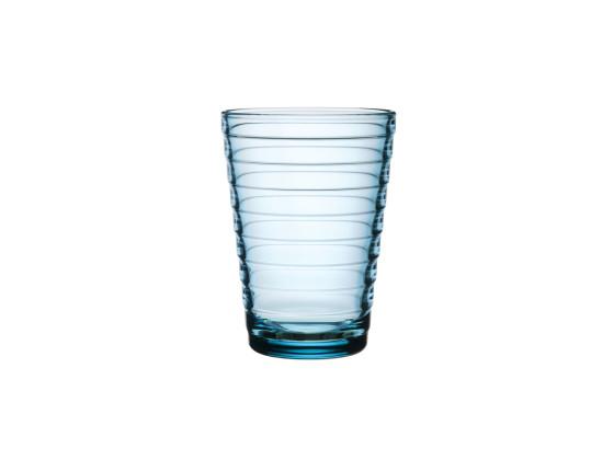 Juomalasi vaaleansininen 2 kpl/pkt 33 cl